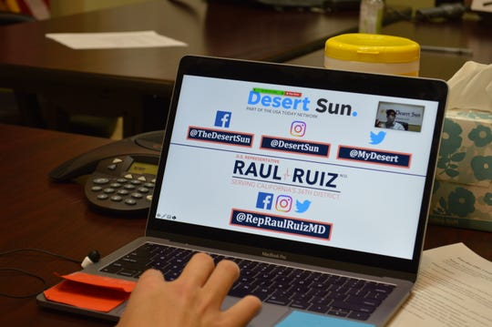 Desert Sun readers submitted questions for Rep. Raul Ruiz, D-Palm Desert.