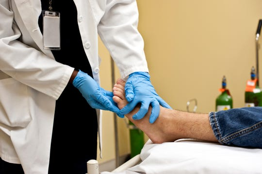 Proper footwear, a healthy diet and maintaining healthy glucose levels can help keep your feet wound-free.