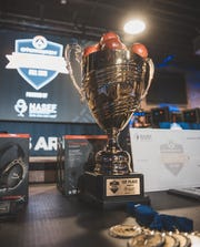 NASEF holds its Overwatch tournament final in January 2020.