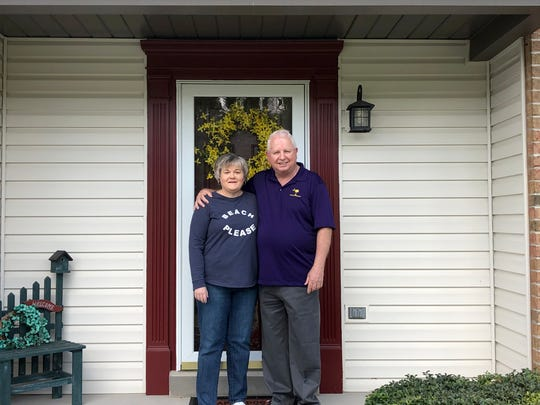Ann and Mark Callahan wanted to put their house up for sale this spring, and they haven't let the coronavirus stop them.