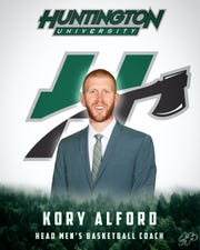 Kory Alford is shown in publicity material provided by Huntington University.