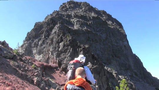 The summit block of Mount Washington.