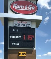 Answer Man: Why does gas cost more in Springfield than it does in Ozark and Nixa?  (The price of a gallon of gas was $1.15 at the Kum & Go at Highway 65 and Highway CC in Ozark -- and throughout Ozark -- on Wednesday.)