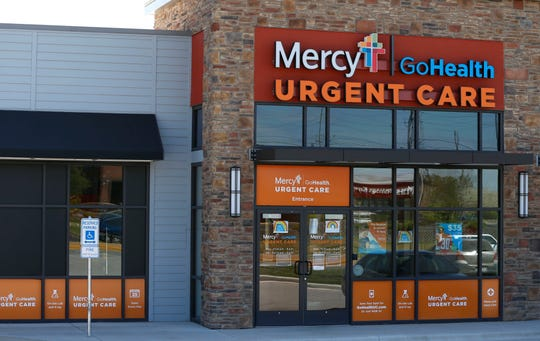 The Mercy-GoHealth Urgent Care on West Republic Road on Thursday, April 16, 2020.