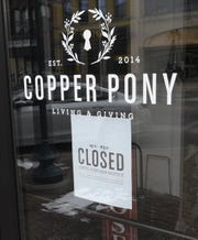 The Copper Pony is pictured Wednesday, April 15, 2020, in St. Cloud.