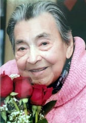 Lucila Dimas, on her 101st birthday on Jan. 1, 2020. Dimas died on April 7, 2020, at Pine Valley nursing home in Spring Valley. She was not tested for COVID-19, her daughter, Maria said, but was presumed to have the coronavirus.