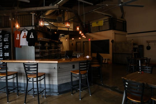 Brad Wagner, owner of Hangman Brewing Co., welcomed customers for opening weekend on Friday, March 13. The following Monday, the brewery was shut down due to Gov. John Carney's stay-at-home order.