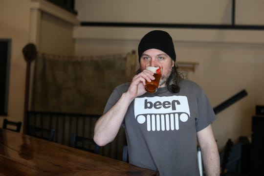 Brad Wagner, owner of Hangman Brewing Co., welcomed customers for opening weekend on Friday, March 13. The following Monday the brewery had to close following Gov. John Carney's stay-at-home order.