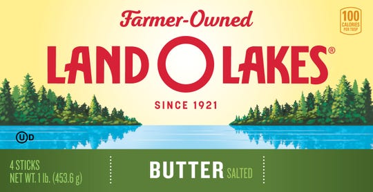 Land O'Lakes new packaging