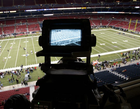 Will NFL football in 2020 have to be played in front of cameras in empty stadiums?