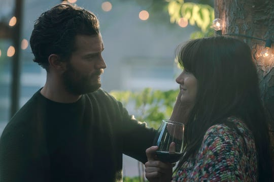 """Jamie Dornan and Shailene Woodley comprise two-thirds of the love triangle in """"Endings, Beginnings."""""""