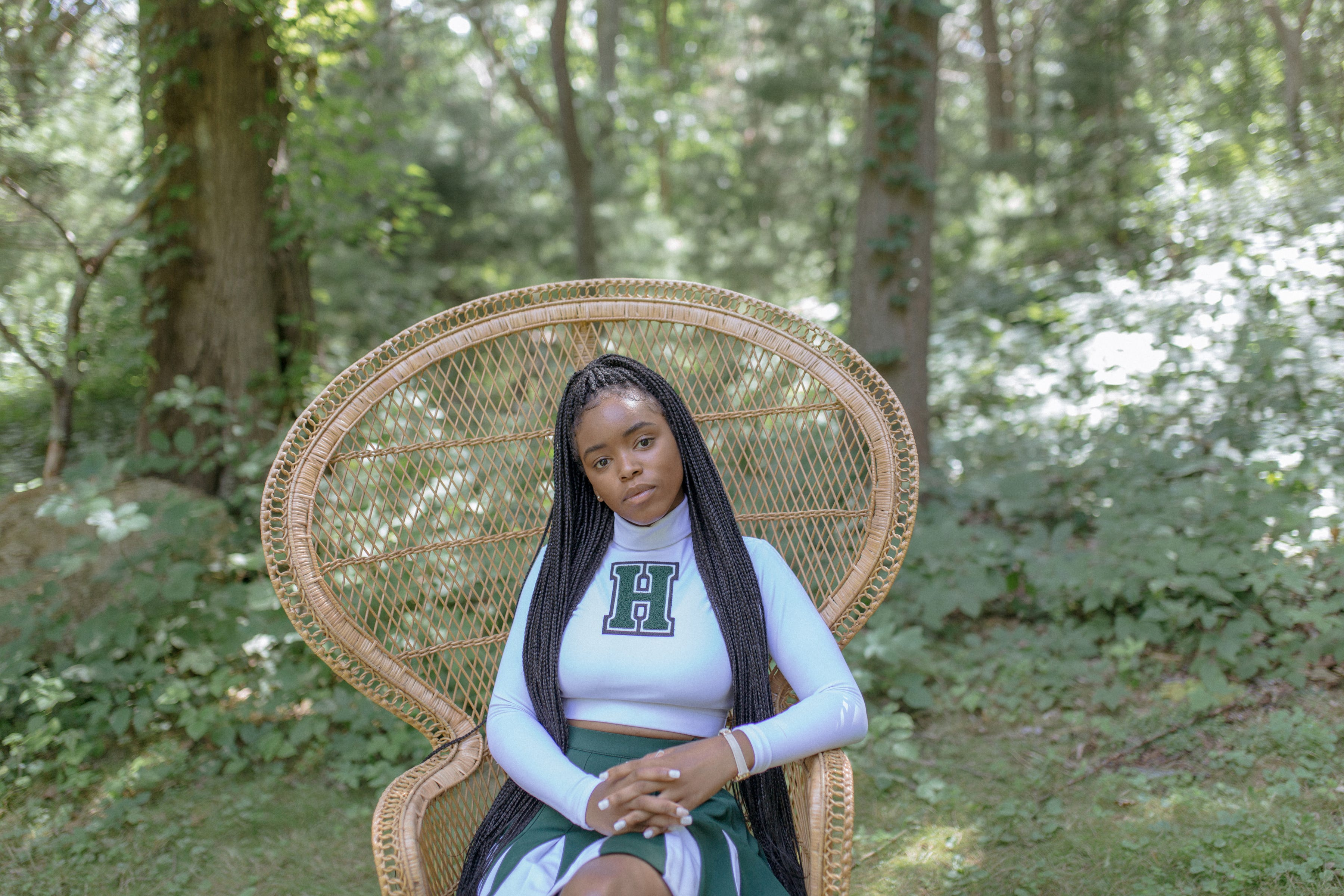 """Lovie Simone stars as a Spirit Squad leader and faction queen in the teen drama in """"Selah and the Spades."""""""