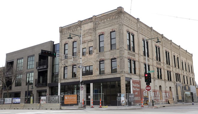 Gabriel Lofts' first apartment residents have already moved in. Now it's time for commercial tenants to move into its ground floor spaces. The building is the former Gabriel Furniture in downtown Appleton.