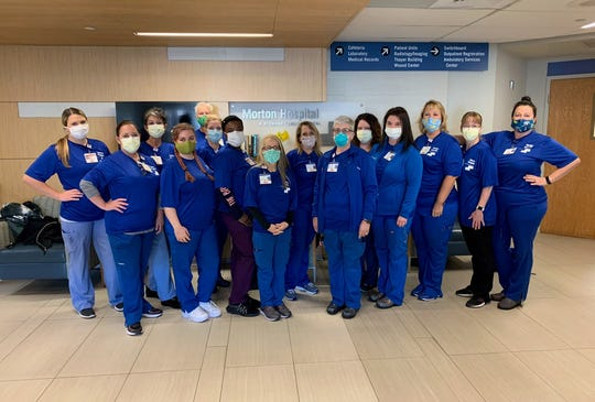 A group of 15 Rockledge Regional Medical Center nurses flew to Morton Hospital near Boston to help treat COVID-19 patients.