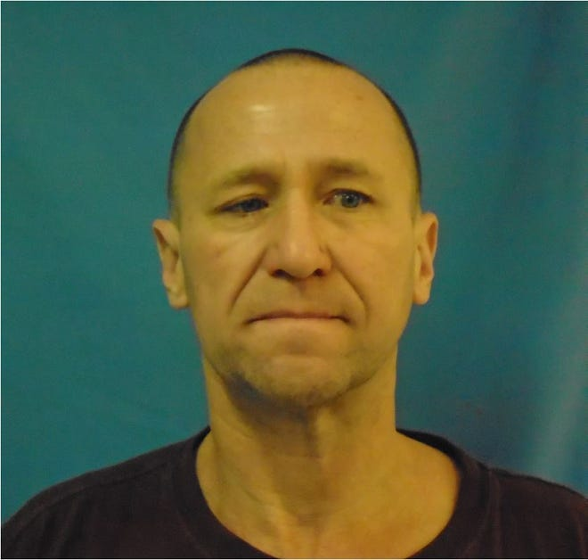 "Lance Mason, 49, of Burlington shown in a mug shot from January 2020. Mason was one of several dozen inmates moved from the Northwest State Correctional Facility in St. Albans to the Northeast Correctional Complex in St. Johnsbury after testing positive for COVID-19. He spent several weeks in quarantine. ""If I could have avoided it, I would have,"" he said."
