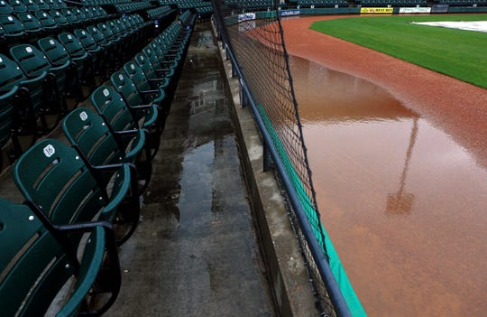 Weather wreaked havoc in the Coastal Bend, altering the sports schedule in 2015.