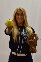 Carli Davy was a three-year starter and a two-year captain at Bishop Eustace.