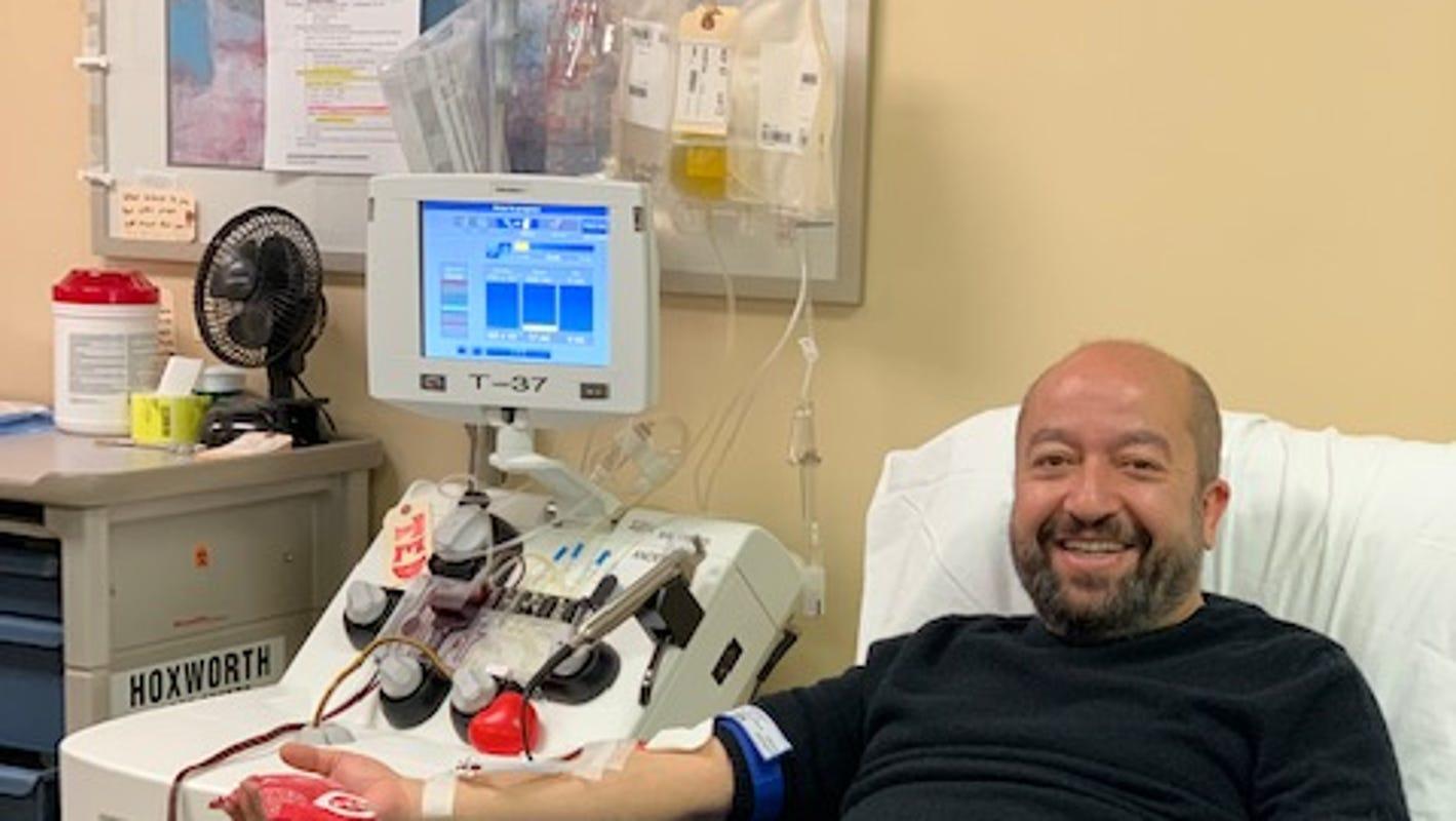 Coronavirus in Ohio: Cincinnati begins quest to learn if blood plasma can treat COVID-19