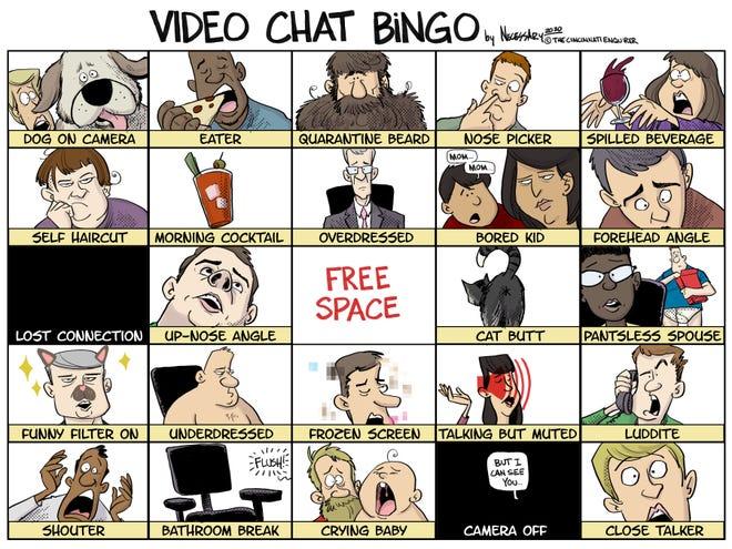 It's Necessary: Video Chat Bingo