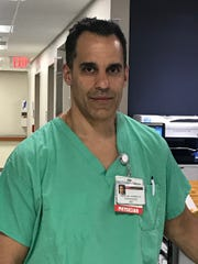 Dr. Michael Rodricks is medical director of the intensive care unit at Robert Wood Johnson University Hospital Somerset.
