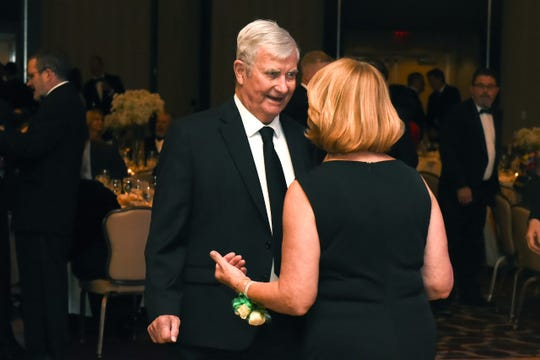 Brother Ronald Cairns, S.C., pictured at St. Joseph's Green Tie Gala in November 2019.