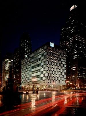 NBD Building Downtown Detroit.