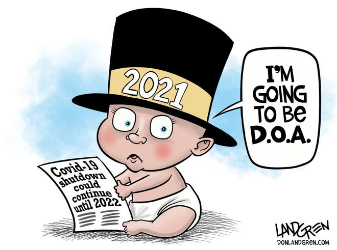 Don Landgren political cartoon