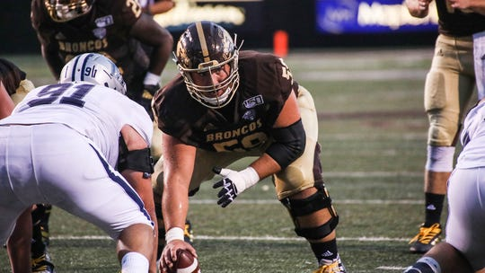Luke Juriga would continue the tradition of Western Michigan offensive linemen going in the NFL Draft.