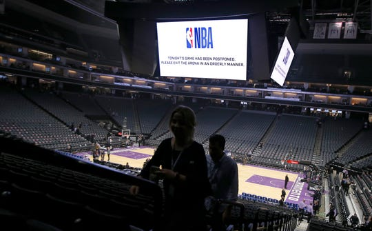 The NBA season has been suspended since March 11.