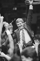 Bill Frieder was Michigan's coach for nine seasons.