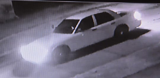 The car involved in the incident.
