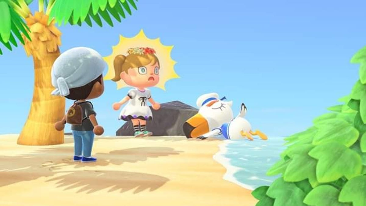 Animal Crossing New Horizons Getting Out While Staying In