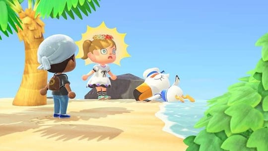 """Traditionally in the game, players could not interact with other players as much, however, in """"New Horizons"""" players can interact with friends and family much more than in previous """"Animal Crossing"""" games."""