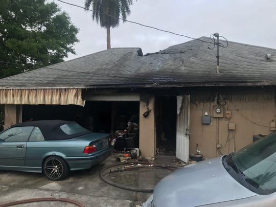 The Cape Coral Fire Department responded to an early morning house fire in the 2000 block of SW 2nd Terrace Friday.