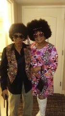 Toni Gibbs Vanzant, right, celebrates her 60th birthday with her mother, Lettie Gibbs.