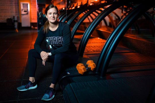 Kathleen Brinch, franchisee at Shred 415 in Louisville, is used to having her clients into her gym space, but as of late she's been entering theirs; virtually speaking.