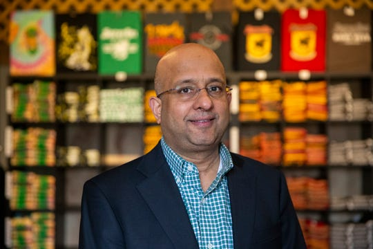 Sharad Chadha called the day he bought Sprecher Brewing the day he realized his American dream. Not long after, coronavirus forced him to close the taproom and retail store. The emergency vehicles Sprecher uses for its Traveling Beer Garden sit idle.