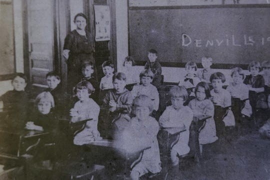 Denville Main Street School is one of the many schools that closed in the fall of 1918 when the Spanish flu hit Morris County.