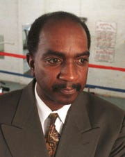 Ed Cotton,  boxing referee. File photo from 1999