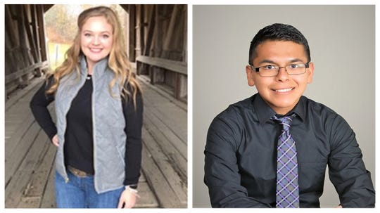 Annalisa Miller and Luis Rios, are both winners of the 2020 Doris Gregory Memorial Scholarship Award by the New Mexico Press Women.  Miller is the first place scholarship winner, she is a sophomore majoring in Agricultural Communications and minoring in Journalism and Mass Communications at New Mexico State University. The second place 2020 Doris Gregory Memorial Scholarship was awarded to Rios, who receives $500. Rios is on the staff of the NMSU student news website, The Round Up.