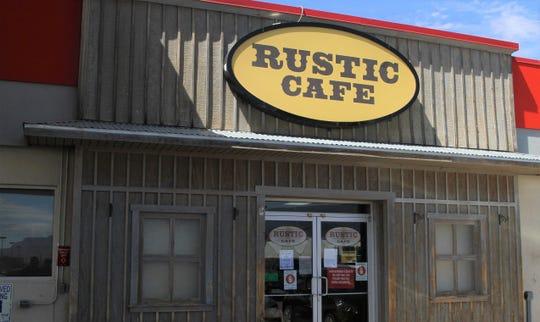 Rustic Cafe in Alamogordo.