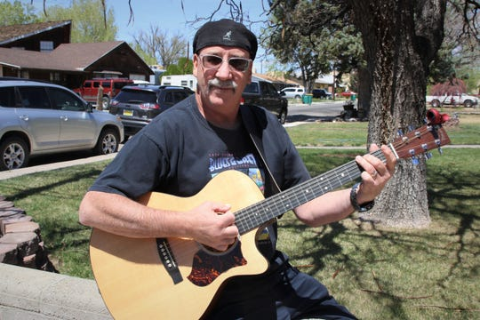 Veteran Farmington musician Jose Villarreal continues his weekly series of front-porch concerts on April 18 from his home.