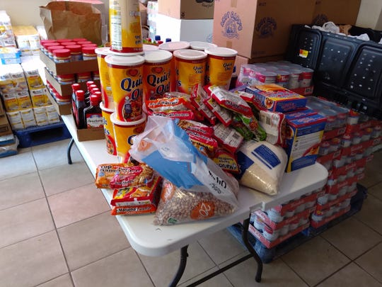 Generous donations continued to flow into the Food Banks assisting the communities and families in dire need of food and supplies during the COVID-19 pandemic.