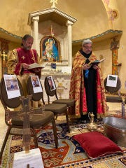 St. Apkar Armenian Apostolic Church continues closed-door Holy Week services during the coronavirus pandemic.