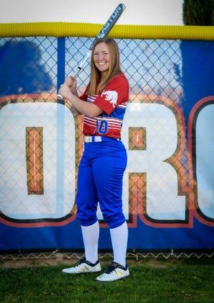 Calista Krause of Mesa Mountain View Softball