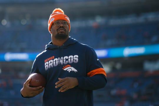 Von Miller, linebacker de los Broncos de Denver.