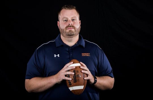 Frank Isenberg, formerly the head football coach at Hershey, is Lebanon High's new head coach, after being hired last month to replace Gerry Yonchiuk.