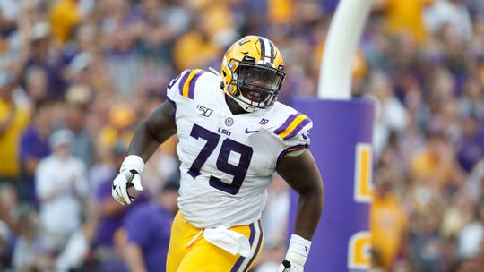The Broncos added to their offensive haul in the draft's early rounds, taking national champion and LSU center Lloyd Cushenberry III with one of their three 3rd-round picks in the 2020 NFL Draft