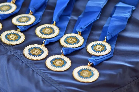 Invitations to join Phi Kappa Phi are extended to juniors in the top 7.5 percent of their class and to seniors and graduate students in the top 10 percent of their class.