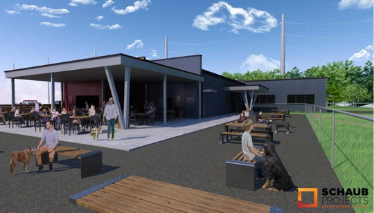 The Bark Yard is a dog-oriented development expected to be built this year at 3110 E. Cherry Street, just west of Highway 65.  Plans call for an off-leash dog park; a covered patio with beer, wine and cocktails; dog daycare and boarding service; and retail space.